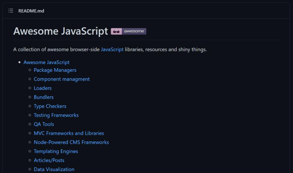 awesome-javascript